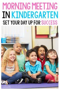 Morning Meeting Routine for Kindergarten - Natalie Lynn Kindergarten