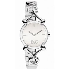 D Dolce & Gabbana Women's DW0681 Flock Silver Case Silver Dial Spaghetti Bracelet Watch D Dolce & Gabbana. $155.00. Stainless steel bracelet with jewelry clasp. Solid stainless steel case, case back and crown. Water-resistant to 165 feet (50 m). 3-hand japanese quartz movement. Limited lifetime warranty. Save 11% Off!