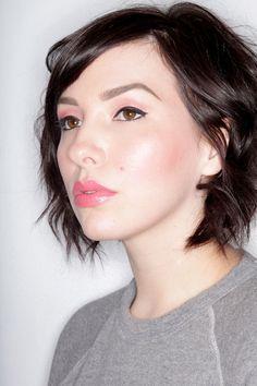 keiko lynn: Makeup Monday: Blushing, Really