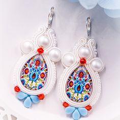 Svatební soutache náušnice - svatba 2021 Drop Earrings, Jewelry, Jewlery, Jewerly, Schmuck, Drop Earring, Jewels, Jewelery, Fine Jewelry