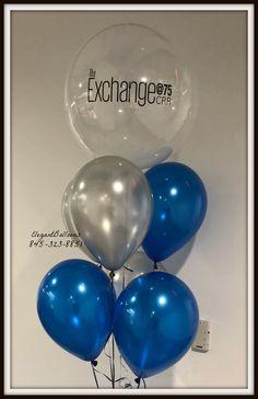 corporate logo balloons