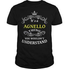 (Tshirt Perfect TShirt) AGNELLO Teeshirt of year Hoodies, Funny Tee Shirts