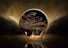 Crema con aceite de argán uso corporal Arganour