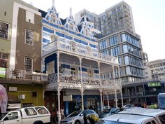 Cape Town's victorian architecture in the CBD - Long Street Cape Town South Africa, Victorian Architecture, Most Beautiful Cities, Night Life, Crazy Night, Old Houses, Places To Go, Beautiful Pictures, Around The Worlds