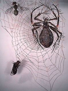 Image result for junk sculptures insects