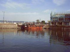 Fisherman's boat on the Sea of Galilee
