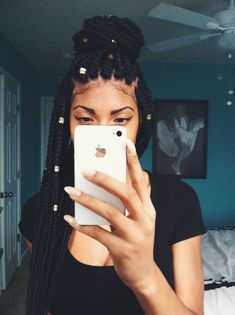 Got my box braids back: