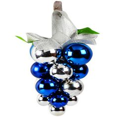 Blue Silver Balls Hanging http://www.tajonline.com/christmas-gifts/product/x1273/blue-silver-balls-hanging/?aff=pint2013/