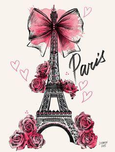 Roses for Paris https://www.facebook.com/lutheen.illustration