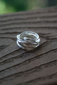 Going in Circles ring by hannahnaomi on Etsy, $32.00