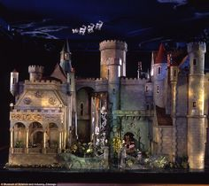 Dollhouse worth $7000000, hand painted by Walt Disney Built in 1928, the Fairy Castle was the property of the famous silent movie actress Colleen Moore. Beautiful Castle! .....Rick Maccione-Dollhouse Builder www.dollhousemansions.com