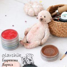 Куклы и игрушки ручной работы. МК по созданию мишки Тедди. glarchik Лариса. Ярмарка Мастеров. Мишка тедди, нить вощёная