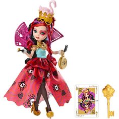 Lizzie Hearts Way Too Wonderland Ever After High Doll, 2015 (I bought her on sale at Meijer for $20.)