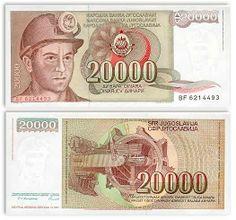 Yugoslavian currency #Yugoslavia