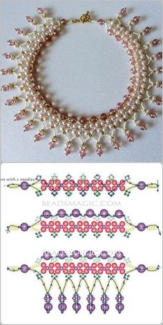 Best Seed Bead Jewelry  2017  schema for Pearls& Roses  Seed Bead Tutorials