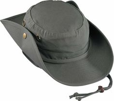 00b55e0ba3e199 Henshel Boonie Hat, Olive, M at Amazon Men's Clothing store: Cowboy Hats.  Fashion Brands ...