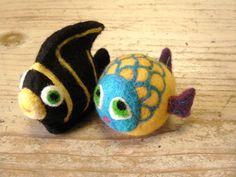 needle felted Fish