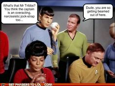 sci fi fantasy Star Trek - Truth from a Tribble