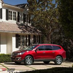 Luther Brookdale Chevy  brookdalechevy  on Pinterest Escape the Minivan Rut With This Mom Approved Chevy   Luther Brookdale  Chevrolet 2016 Traverse