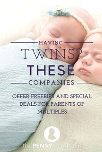 Have Twins? These Companies Offer Freebies and Special Deals for Parents of Multiples - Have Twins? These Companies Offer Freebies and Special Deals for Parents of Multiples If you're - Twin Mom, Twin Girls, Twin Babies, Twin Baby Girl Names, Twin Baby Girls, Boy Girl Twins, Baby Baby, Signs Of Twin Pregnancy, Pregnancy Twins
