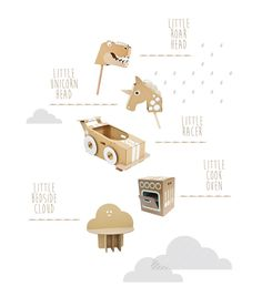 A few months ago while I was looking around pinterest I chanced upon Flatout Frankie and their amazing eco-friendly cardboard creations. What a great idea! I love how it's such a good way to have fun with cardboard (remember getting...