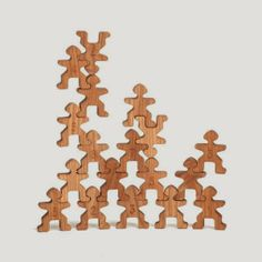 puzzle-people | Wood