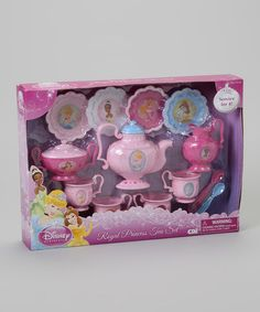 Take a look at this Royal Princess Tea Set by Disney on #zulily today!