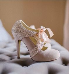 Wedding Shoes - Vintage