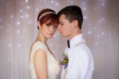 Lorna and her boyfriend in a Country Wedding Magazine January 2014