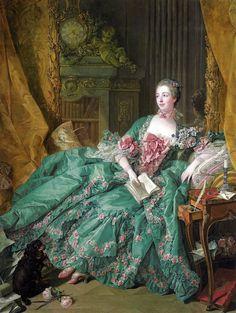Madame de Pompadour by Francois Boucher, 1756