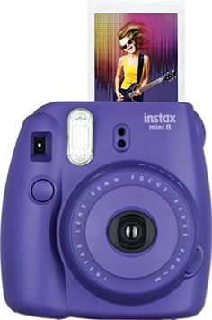 Fujifilm Instax Mini 8 Instant Film Camera Grape ** Check out this great product.