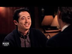 Love the style this interview was filmed. More intimate and different from your usual Celebrity Interview setup.