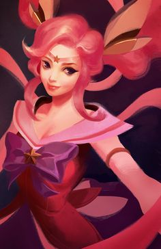 League of Legends - Star Guardian Lux by iamacoyfish