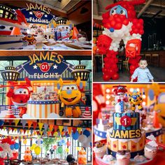 Super wings birthday party