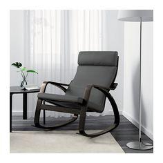 POÄNG Rocking chair - Finnsta gray - IKEA