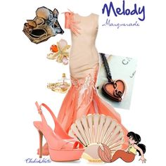 Melody Masquerade, created by cheshirehatter on Polyvore