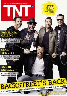 Remember these guys? New Kids on the Block and Backstreet Boys - We hung out with NKOTBSB and spoke to Howie and Joey.
