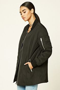 Padded Zip-Front Jacket