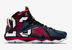 """040f2567073a Official Images of The Nike LeBron 12 """"What The"""""""