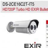 HIKVISION DS-2CE16C2T-IT5 3.6 TELEC BULLET D&N 720P 3.6 mm IR EXIR FINO 80MT TURBO HD HD-TVI