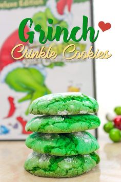 How the Grinch Stole Christmas Cookies Recipe | Grinch Christmas Cookies