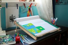 Drawing Table for Kids that's portable and ergonomic