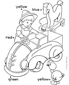 Coloring worksheets for preschool