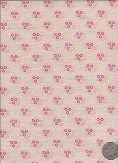 """Little Floral Pink  """"Mosaic Bloom"""" designed by Rosalie Dekker."""
