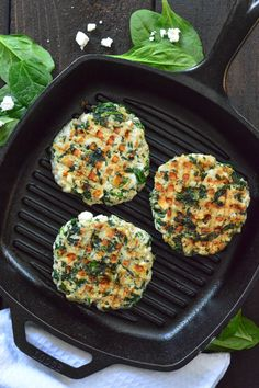 Spinach Feta Turkey Burgers on MyRecipeMagic.com