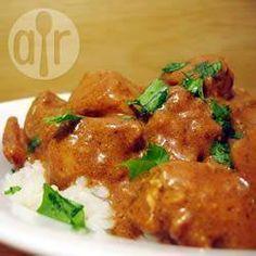 Indisches Butterhähnchen aus dem Slow Cooker @ de.allrecipes.com Slow Cooker, indisch kochen, indisches Huhn, Crock Pot