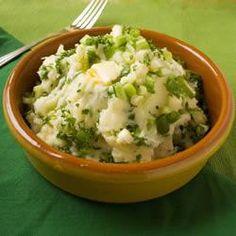 Irish Champ (spring onions and mash)