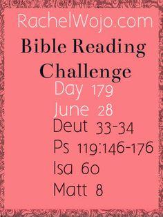 Bible Reading Challenge Day 179 #bibleinayear