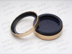 Gold n Black Lip And Eye shadow pot