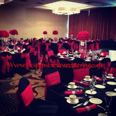 Www.exspensivetastecatering.com a full service catering & decorating service